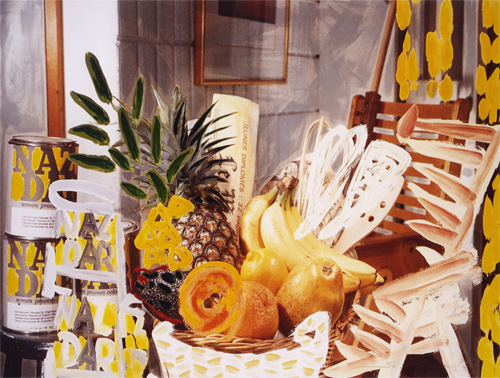 Fruit & Chair#1